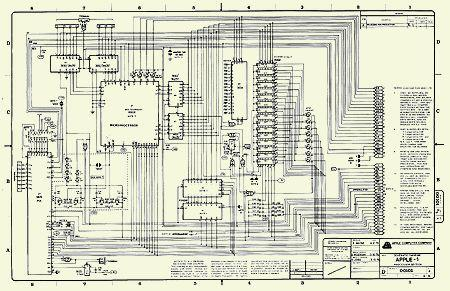 apple i schematic diagram  zen diagram, schematic